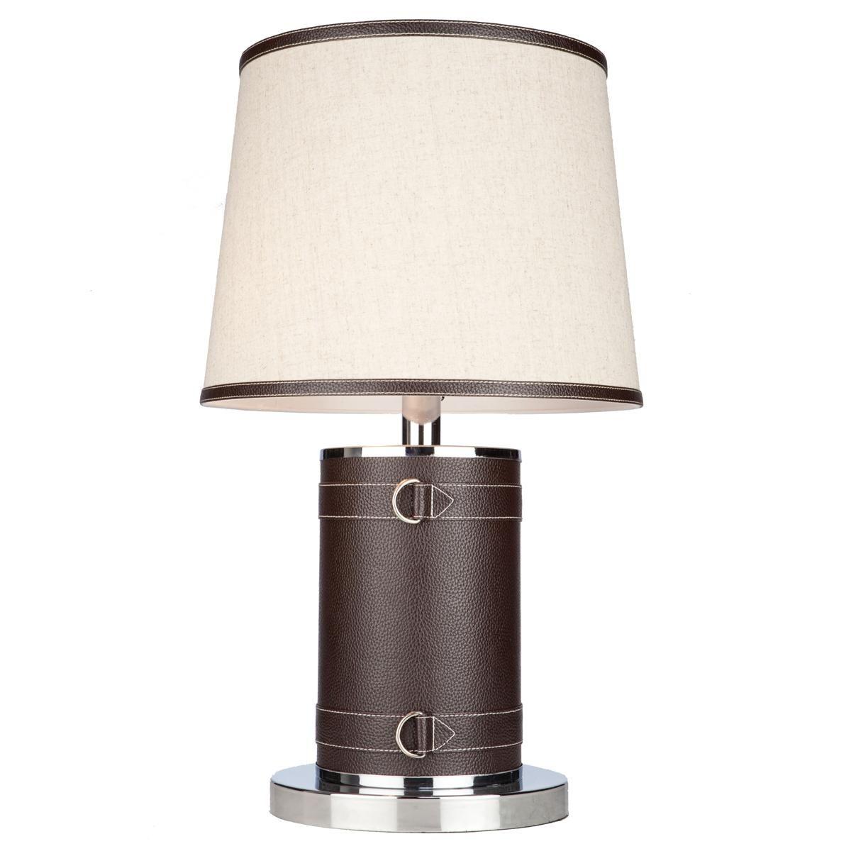 Leather u buckle jockey table lamp lighting pinterest glass
