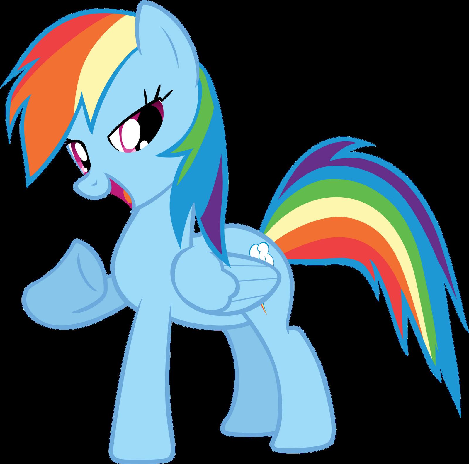My Little Pony Rainbow Dash Rainbow Dash Vectors My Little
