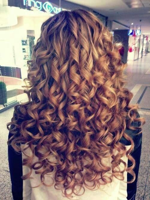Soft Spiral Curls In 2019 Long Hair Styles Curly Hair