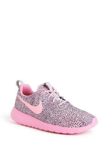 Nike 'Roshe Run' Print Sneaker (Women) available at #Nordstrom.
