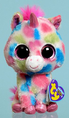 10b147daf89 Skylar - unicorn - Ty Beanie Boos