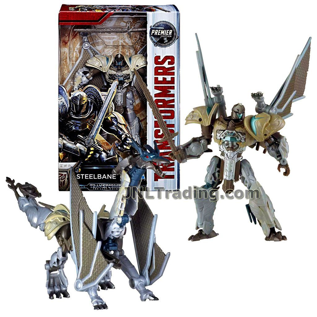 STEELBANE PREMIER EDITION ACTION FIGURE TOY TRANSFORMERS 5 THE LAST KNIGHT