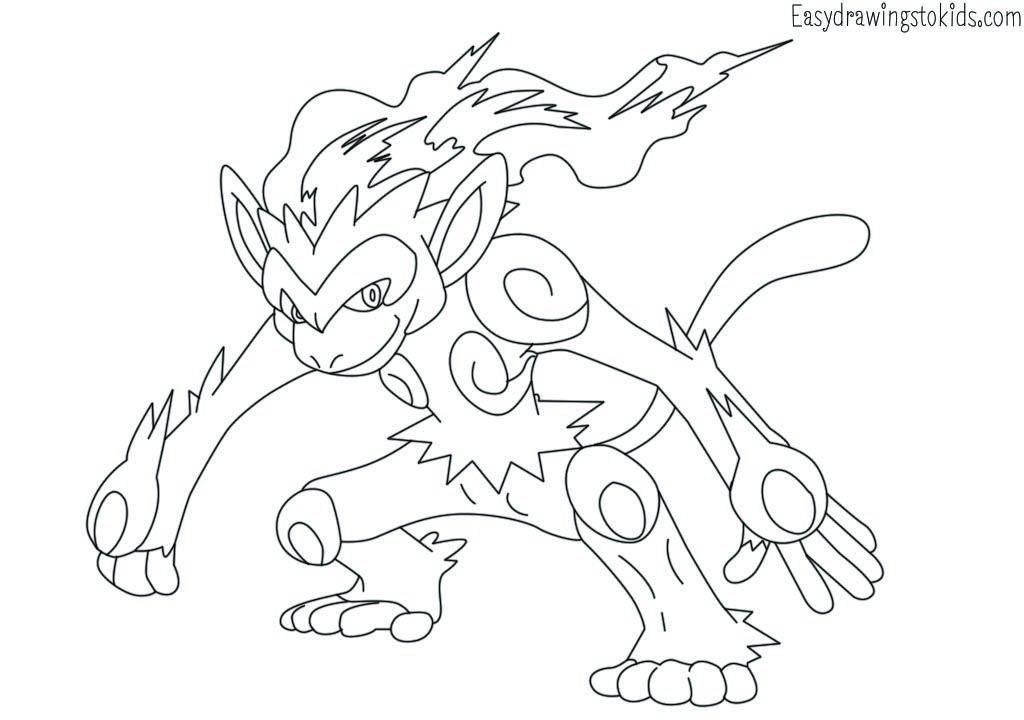 Infernape Pokemon Drawing Pokemon Coloring Pages Pokemon Coloring Pokemon Drawings