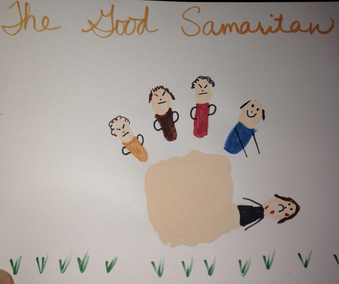 The Good Samaritan Handprint Craft Nifty Children S Crafts Bible
