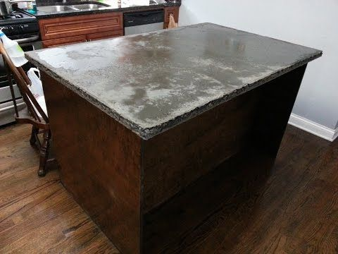 Z Counterform How To Build Concrete Countertops Full Instructional Video Youtube Countertops Quikrete Countertop Mix