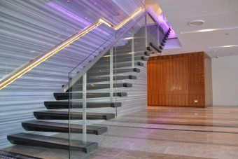 Category: cantilevered stairs