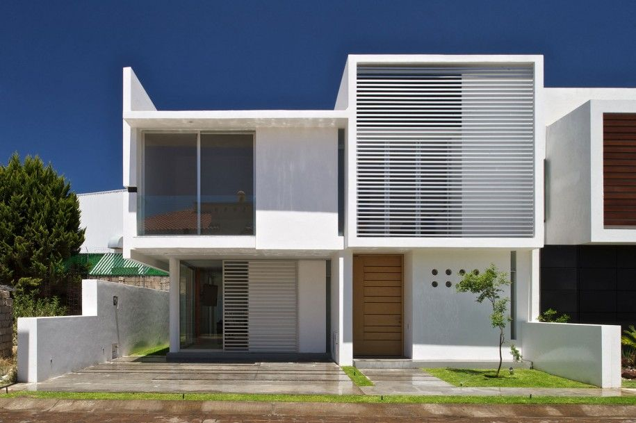 Modern Home Architecture for 2014\'s Lifestyle : Exquiste Two Story ...
