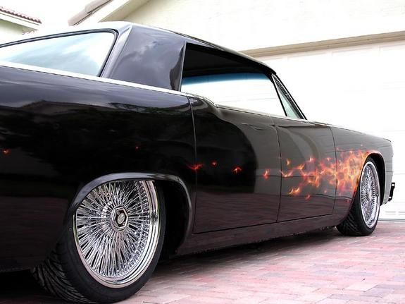 if there are cooler flames on a 65 continental bring em. Black Bedroom Furniture Sets. Home Design Ideas