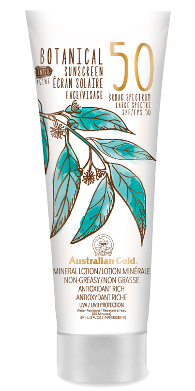 Australian Gold Botanical SPF 50 Tinted Face Mineral