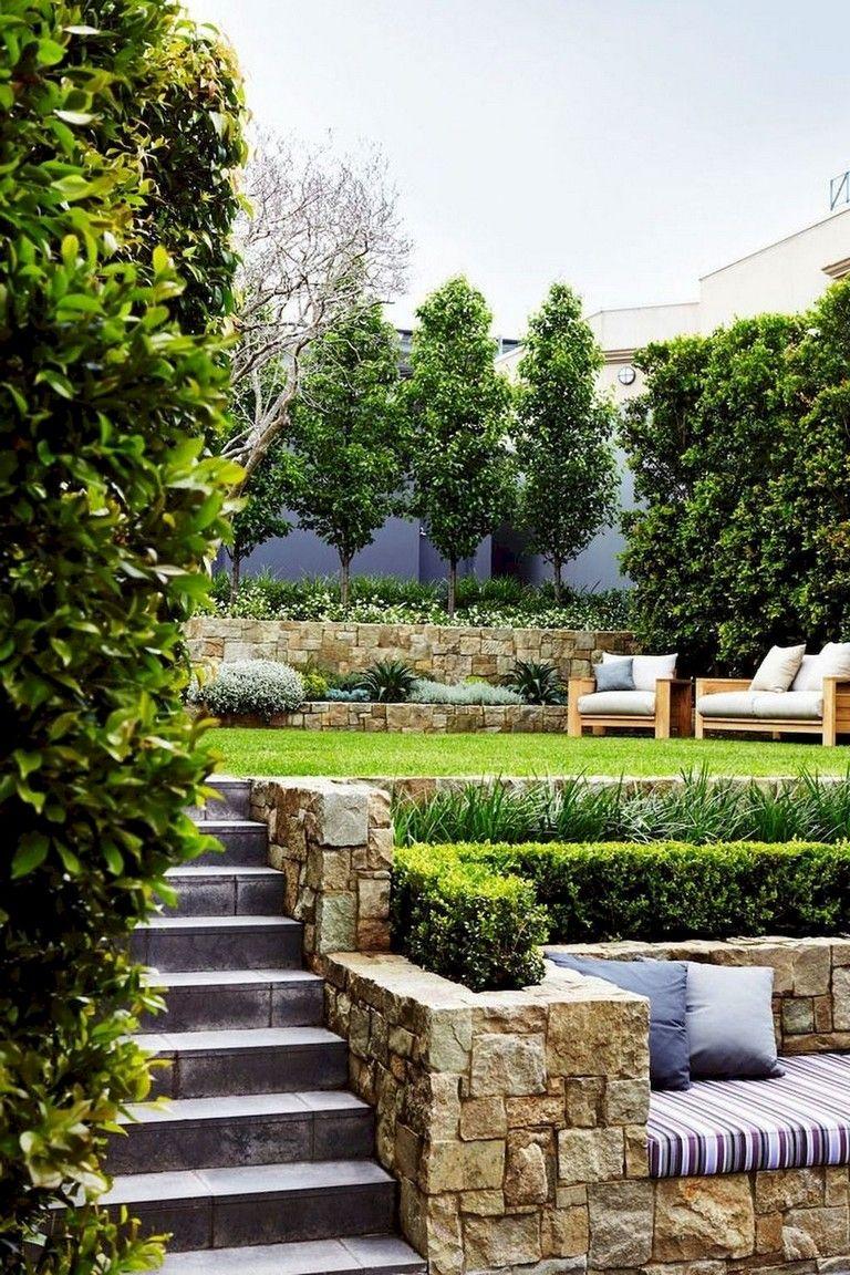 63+ Lovely Modern Front Yard Landscaping Ideas #yardlandscaping