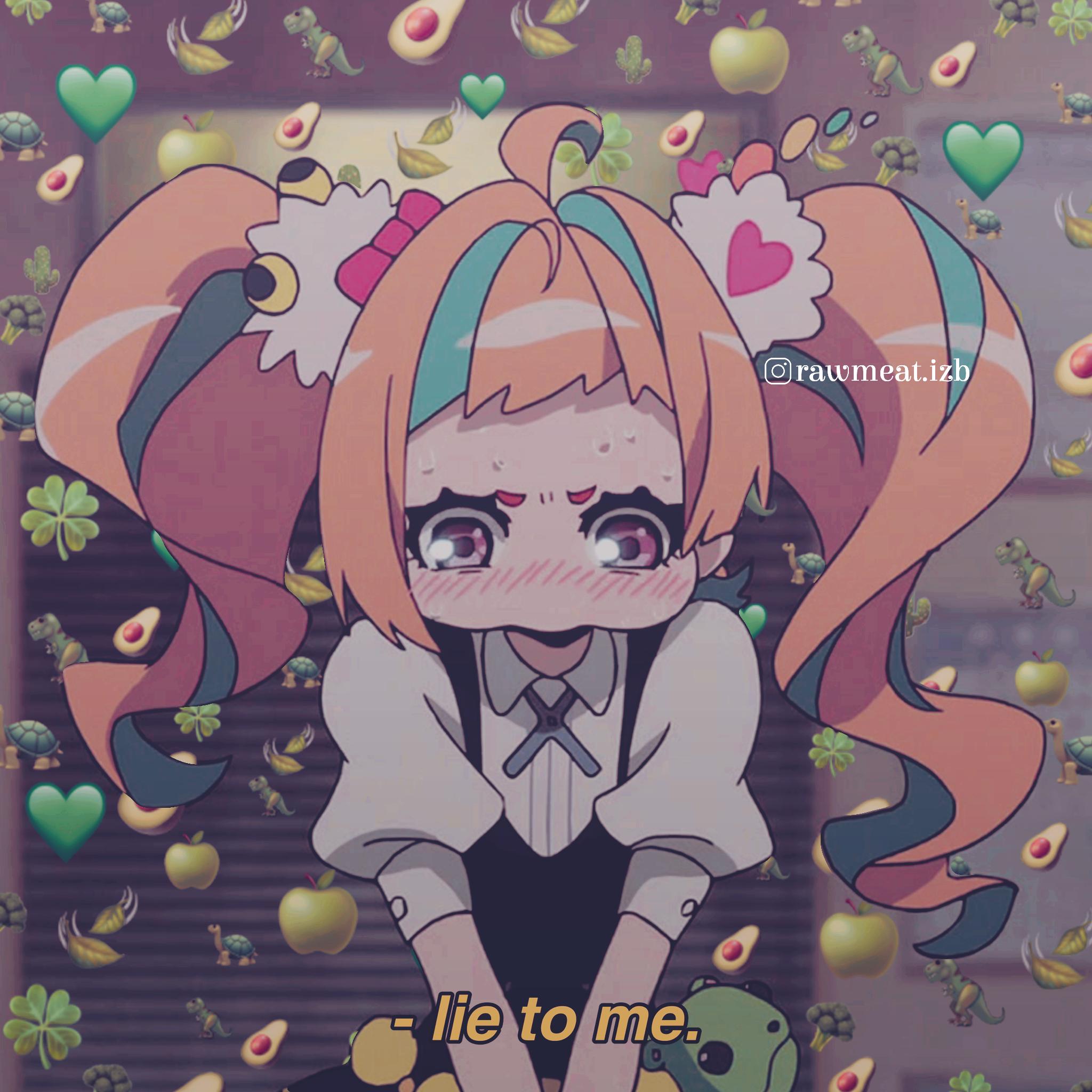 Anime Icons. Edited by RawMeat. followme animeicons