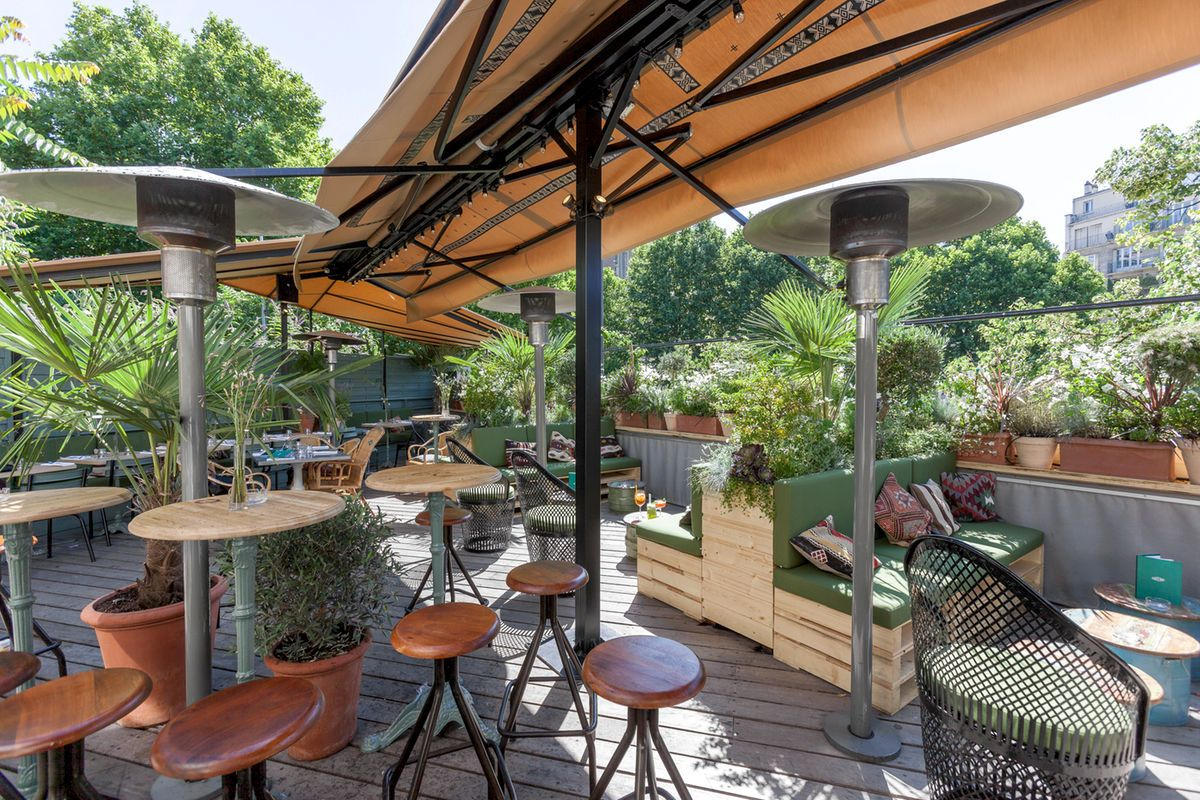 brasserie auteuil terrasse et rooftop l 39 italienne au c ur du 16 me brasserie italien et. Black Bedroom Furniture Sets. Home Design Ideas