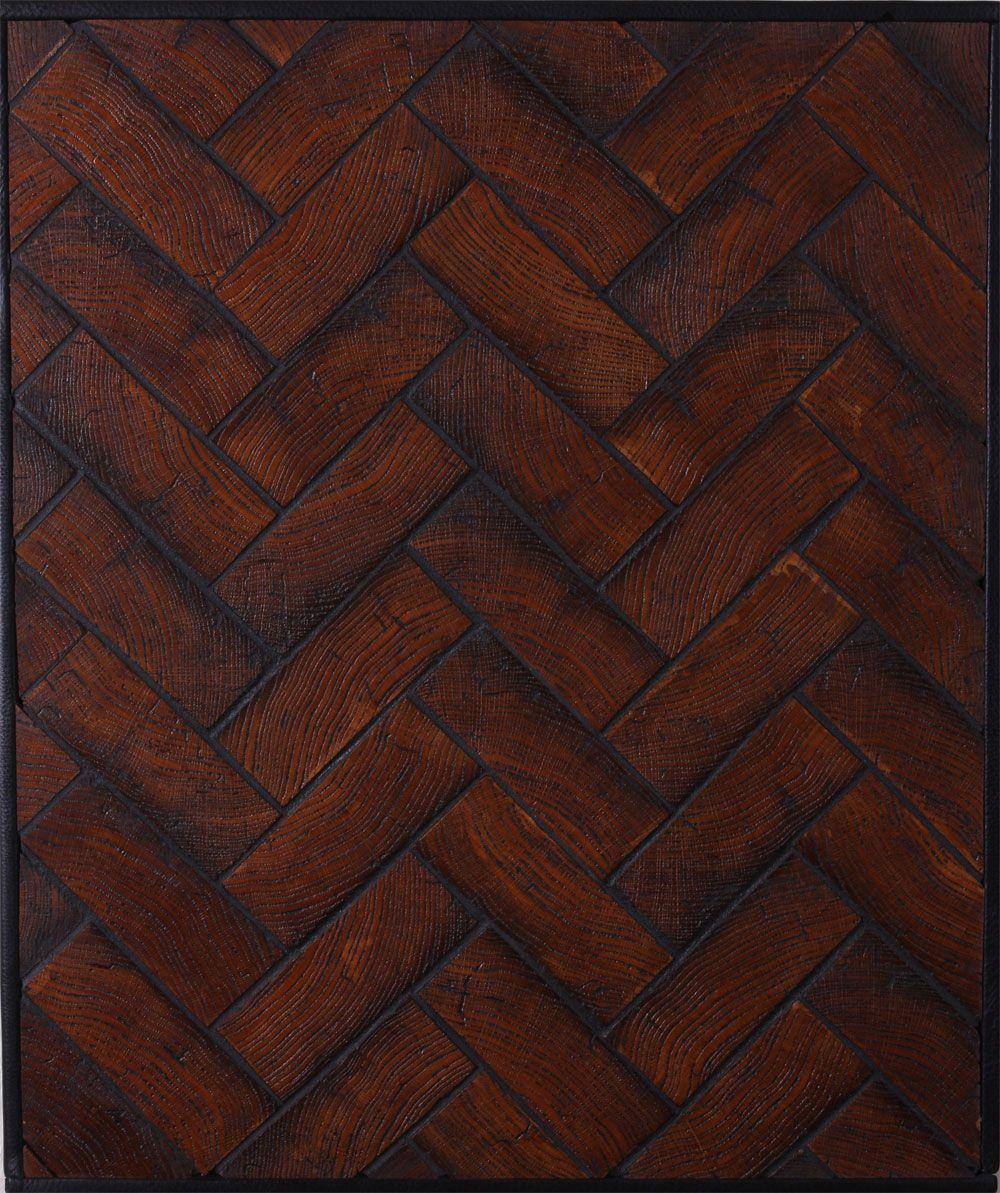 Custom End Grain Block Wood Floor Upcycling Pinterest