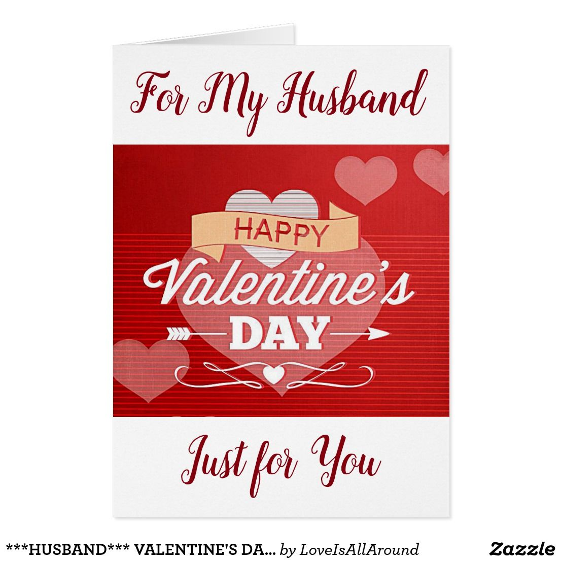 Husband Valentines Day Love And More Card Valentines Sweets