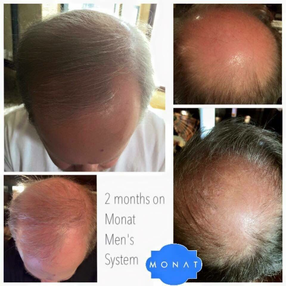 2 months with Monat Men Sleekpeek Monat, Monat hair