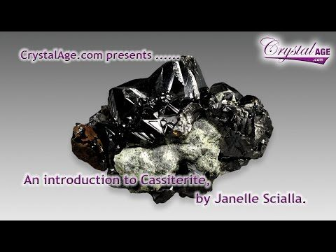 Healing Crystals Guide - Cassiterite   Crystal guide. Crystal healing. Crystals