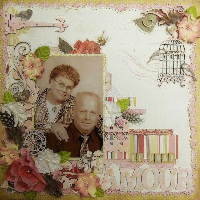 Le Vrai Amour (scrap-utopia) - Scrapbook.com