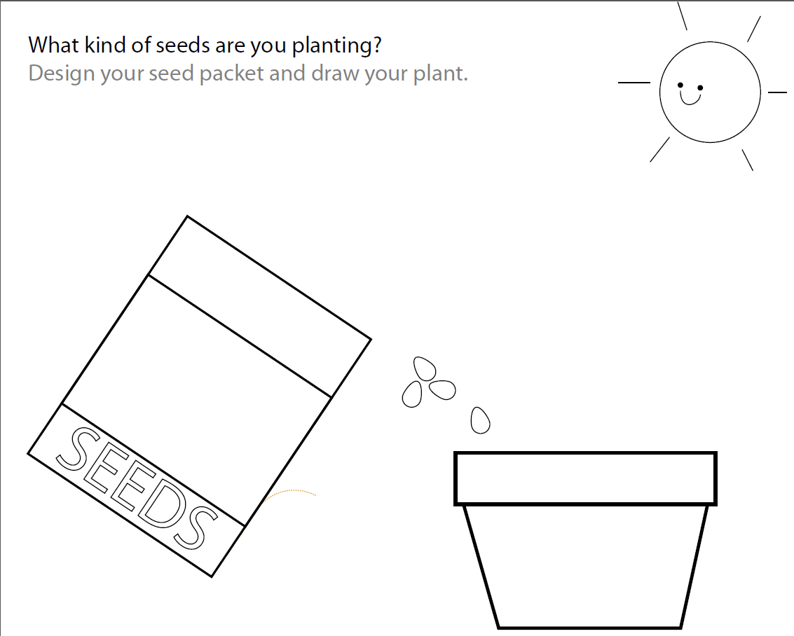 small resolution of Free plant worksheet   Free seed worksheet   Paper and the Pea   Plants  worksheets