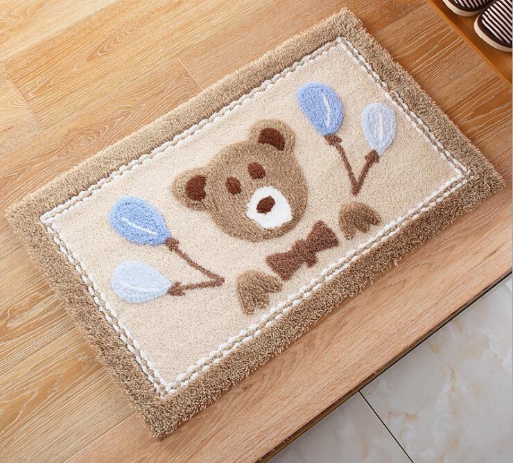 Cartoon Baby Carpet Floor Mat Carpet Living Dining Bedroom Carpet Area Rugs Anti-slip Door Mats Bathroom Carpet Home Textile