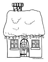 Christmas Lights Coloring Pages Christmas Lights Coloring Page