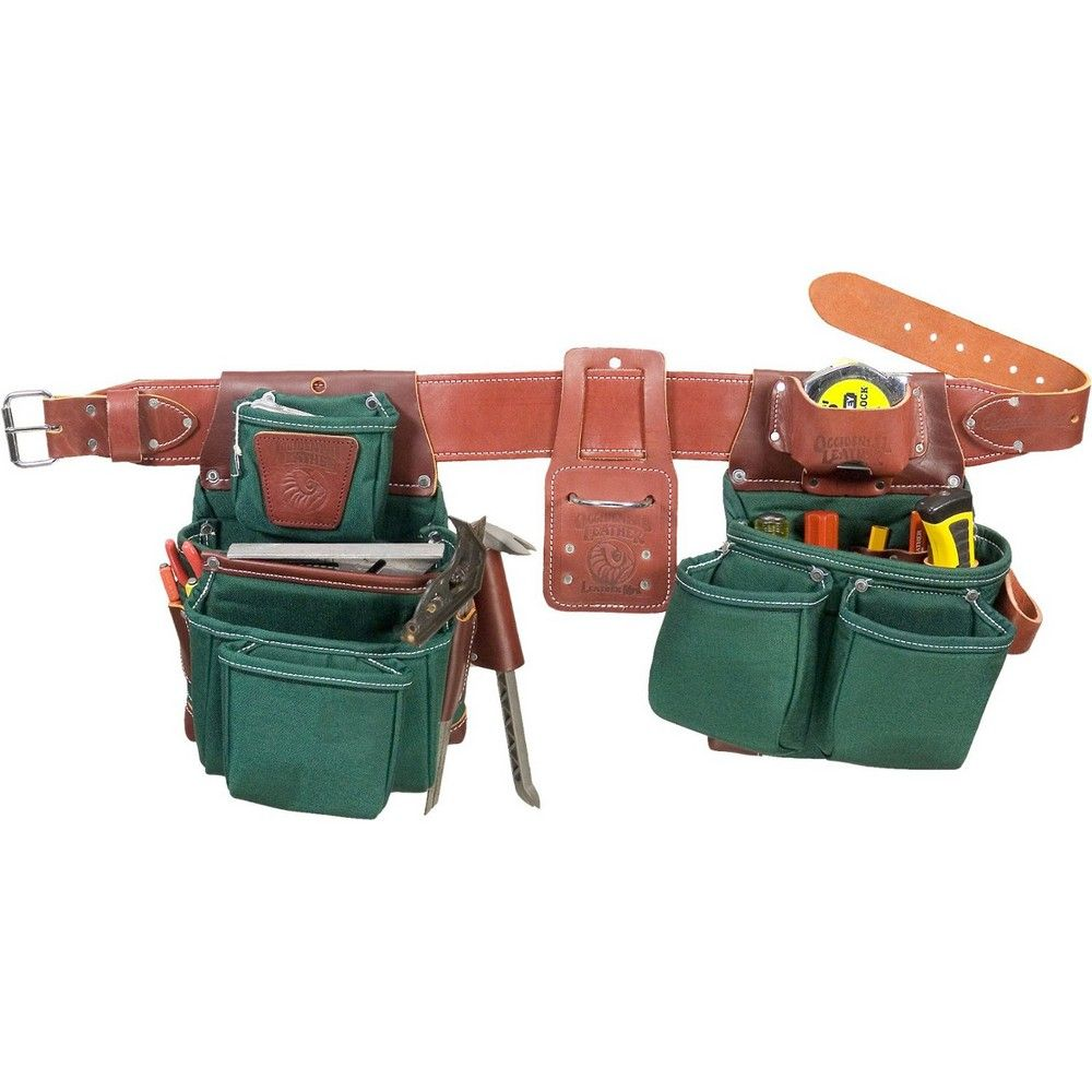 Occidental Leather 8580M Medium FatLip Tool Bag Set