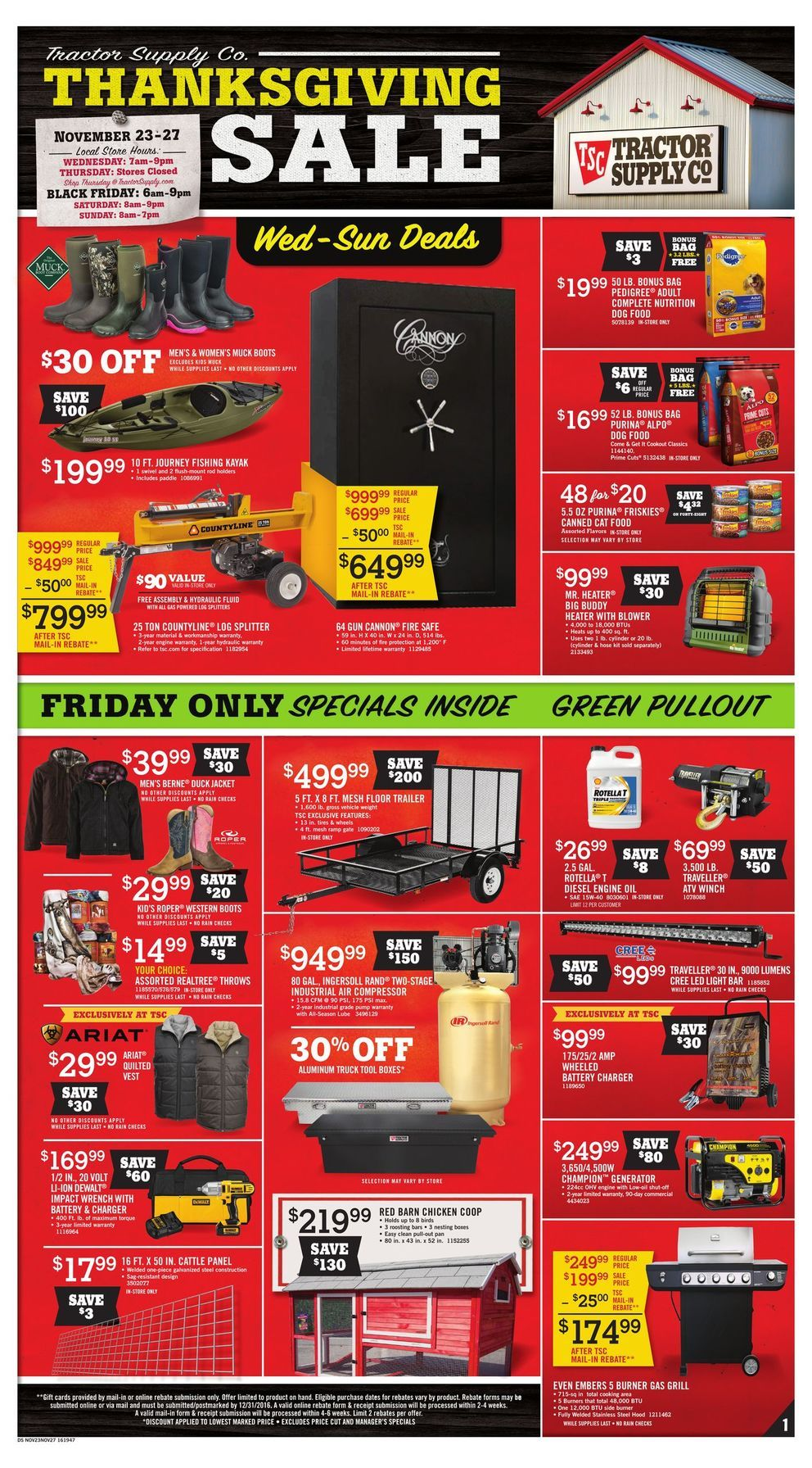 Pin By Amber Bare On Weekly Ads And Flyer Samples Tractor Supply