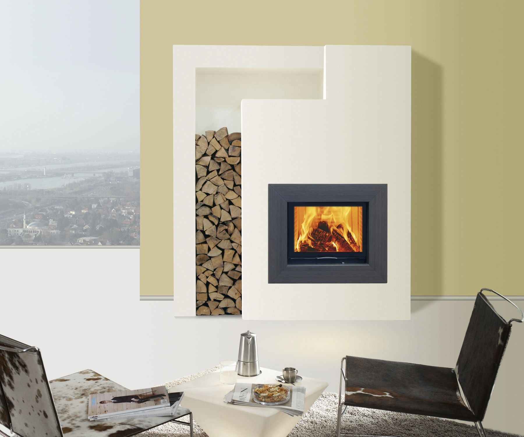 Image result for small corner gas fireplace ideas ...