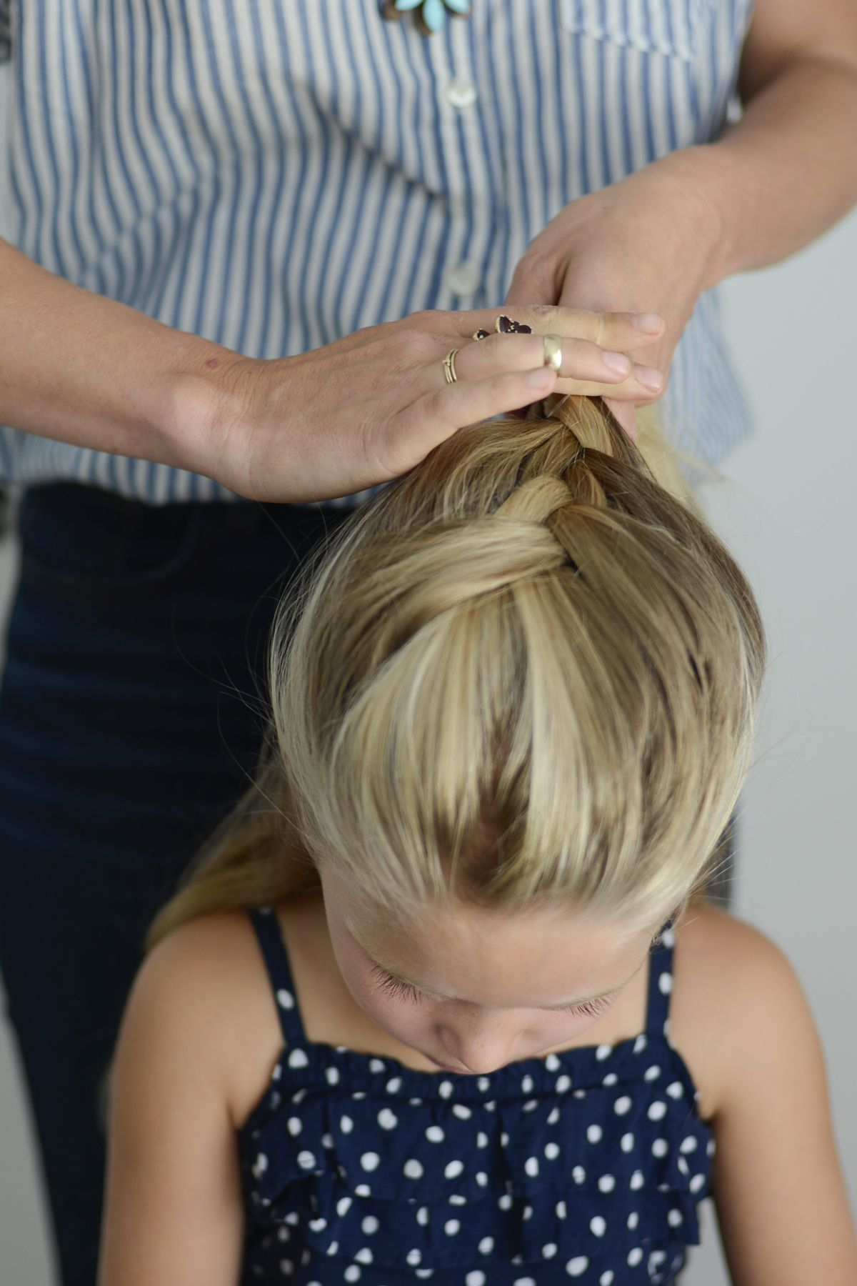 french braid bun tutorial (With images) Growing out