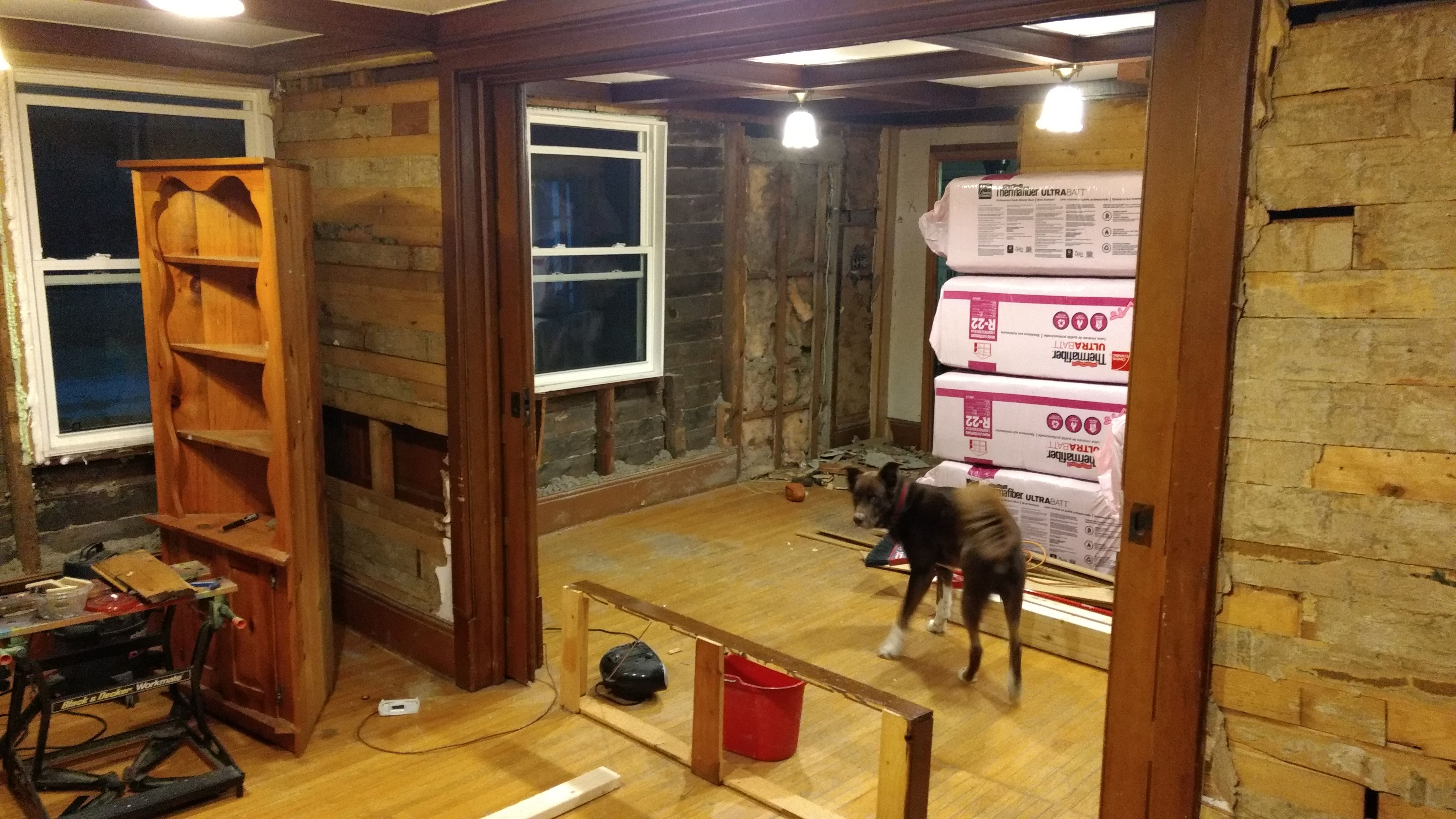 A Few Progress Pics From My First Renovation #handmade #crafts #HowTo #DIY