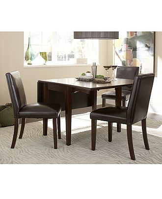 Addison Dining Room Furniture, 5 Piece Set (Round Dining Table and 4