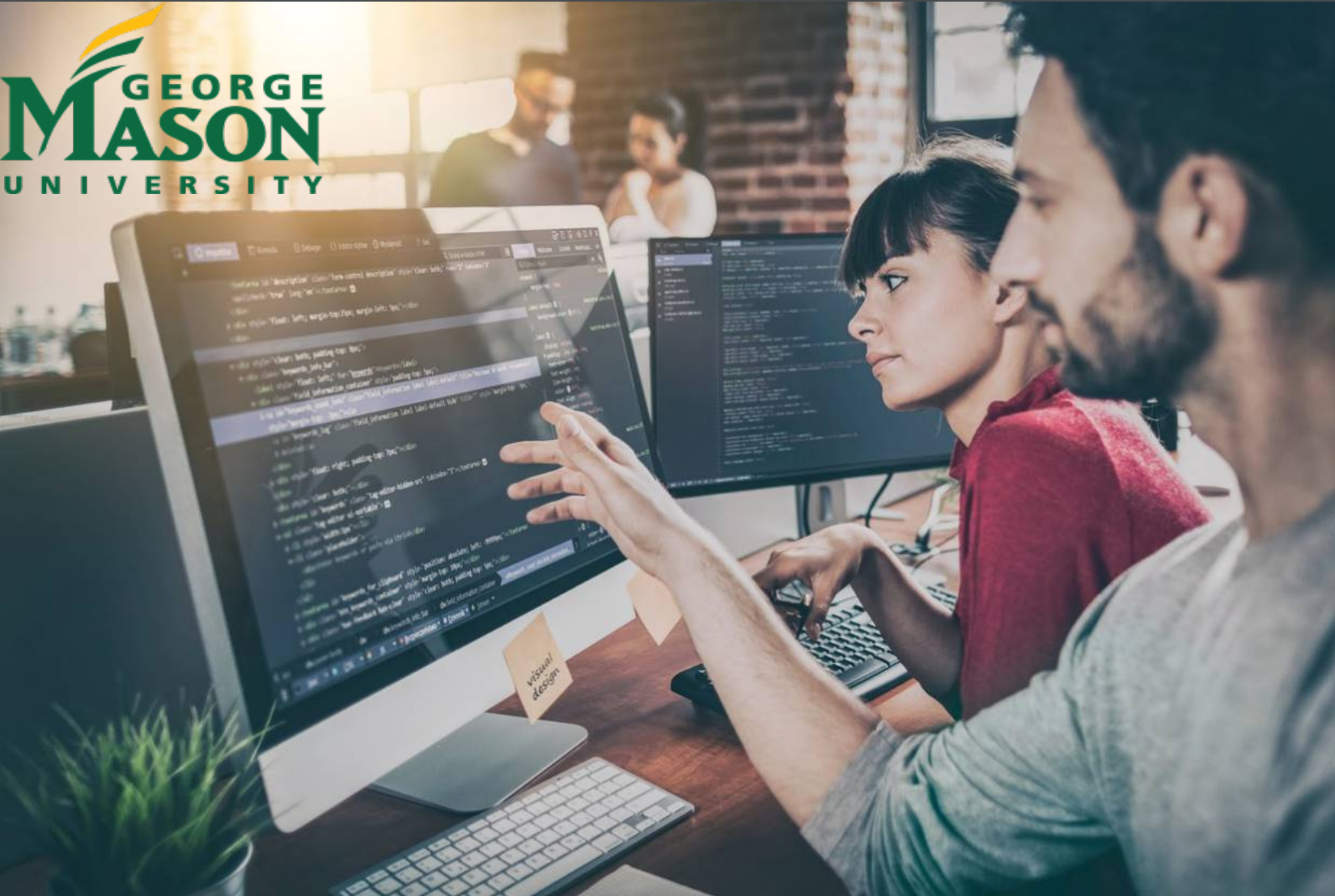 Study Cyber Security And Become A Digital Warrior At George Mason University Students Who Earn Their Degree Fro Web Development Web Design Company Development