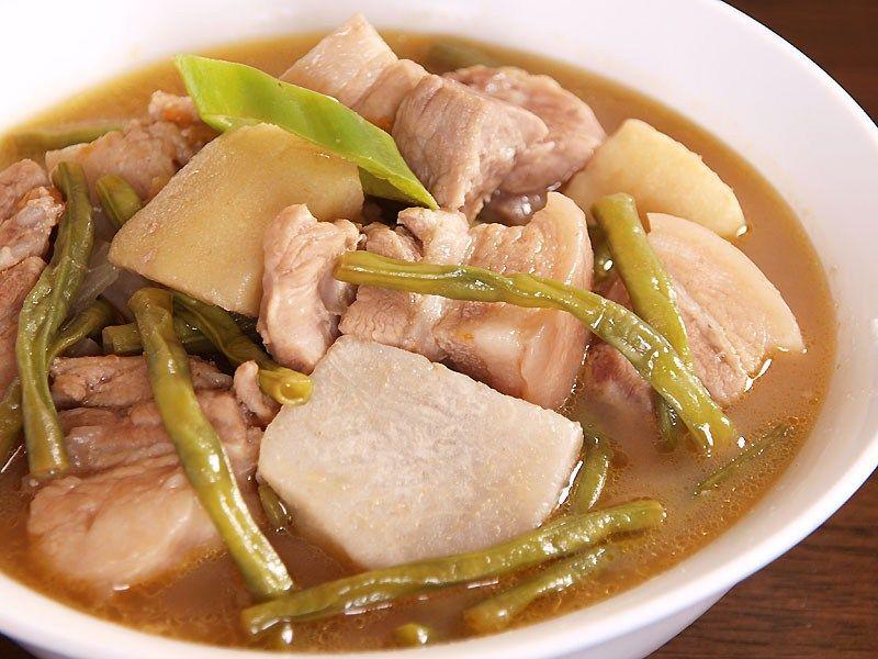 Sinigang Na Bayabas Pork In Guava Soup Ang Sarap Recipe Sinigang Sinigang Recipe Pork Sinigang