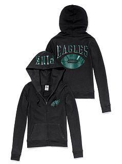 698404a8 Philadelphia Eagles Zip Hoodie | Pinterest Closet | Eagles hoodie ...