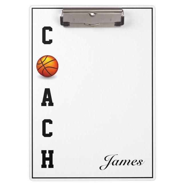 Clipboard-Basketball Coach Clipboard