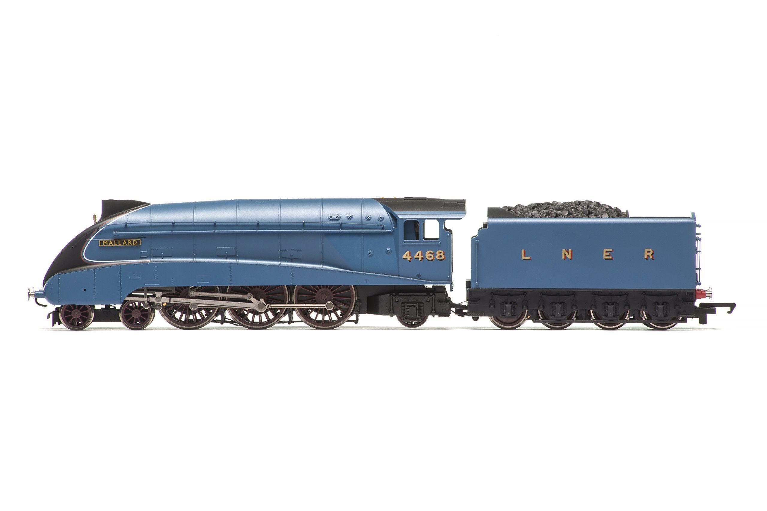 Hornby R1171 Flight of the Mallard 00 Gauge Electric Train ... Mallard Train Toy