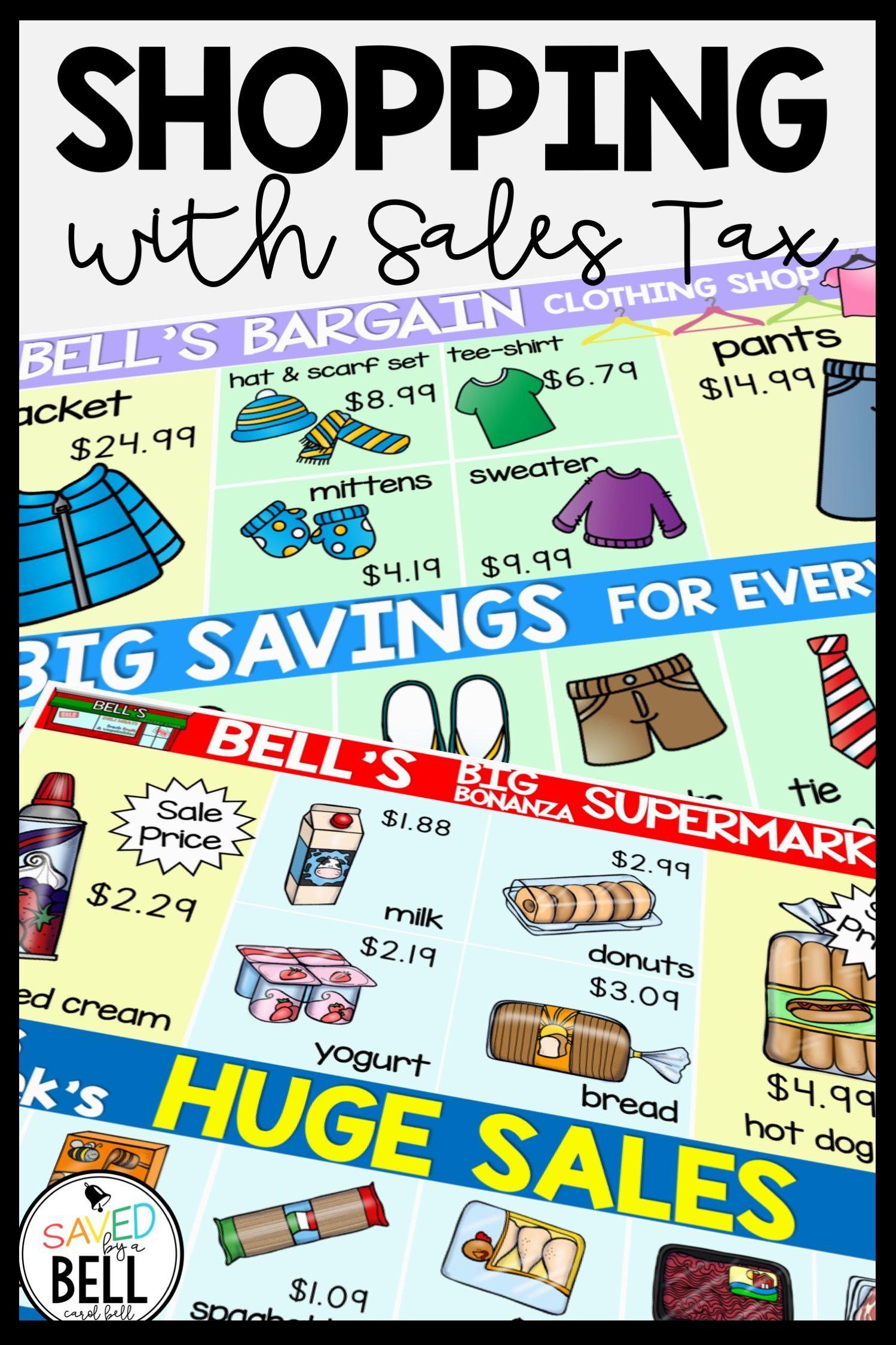 Sales Tax Worksheets   Consumer math [ 2249 x 1499 Pixel ]