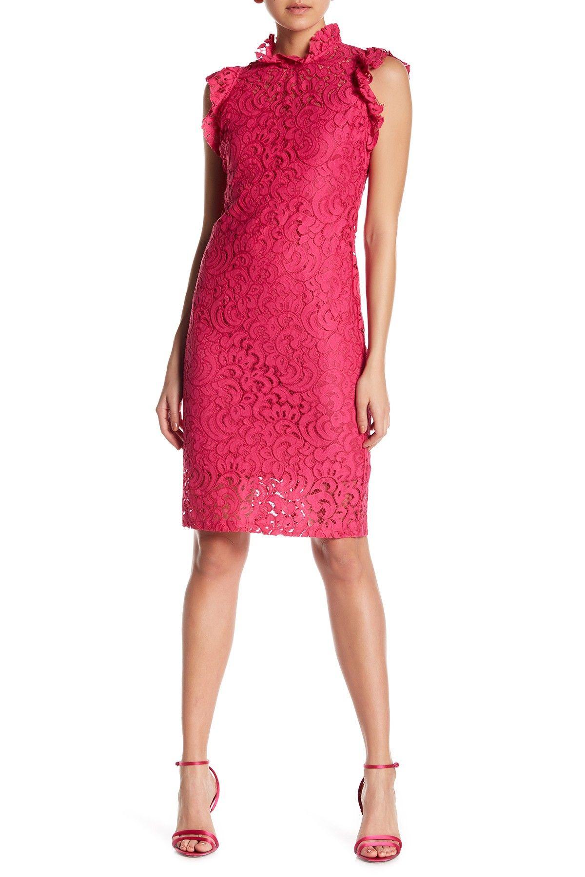 fdf835e7 Alexia Admor | Lace Cap Sleeve Sheath Dress in 2019 | Dresses | Lace ...