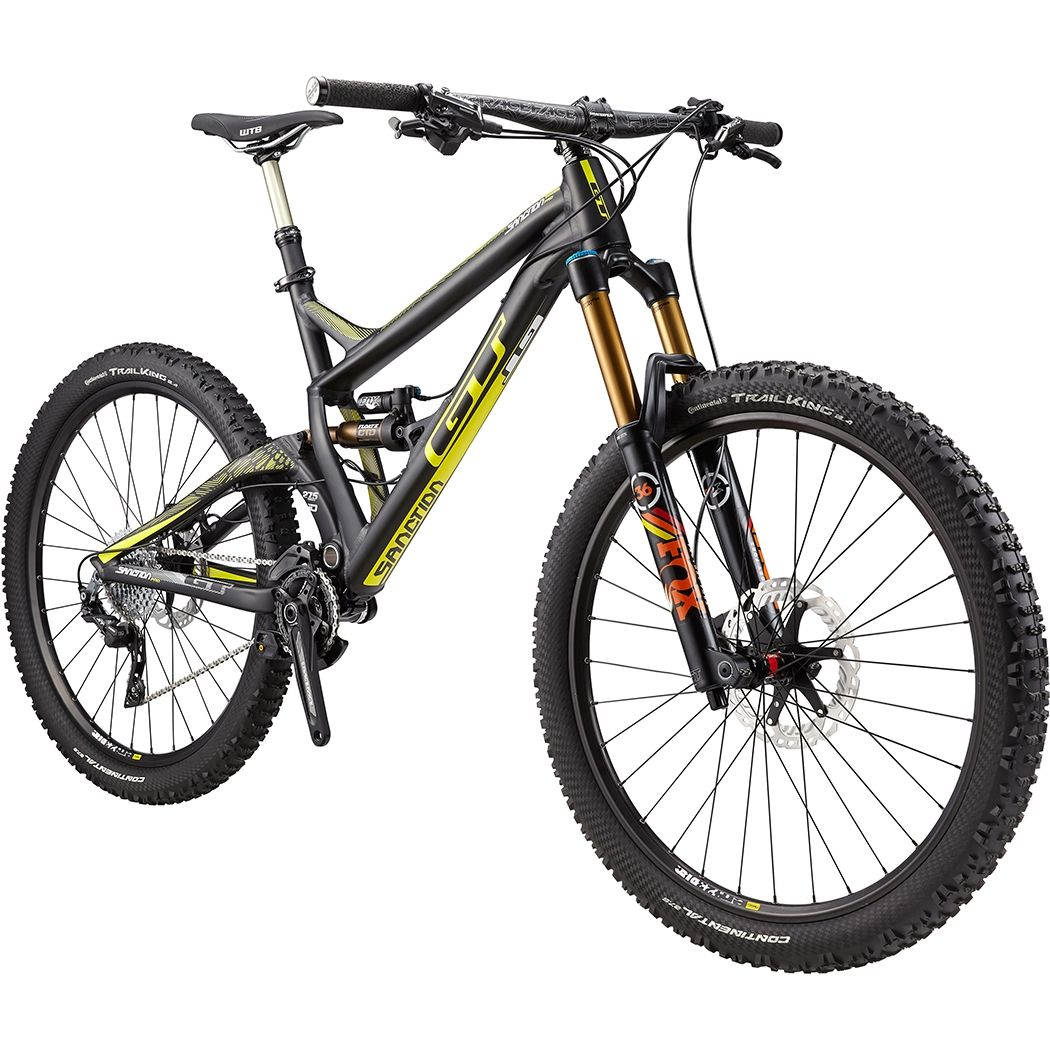 Most Expensive Mountain Bike >> Gt Sanction Pro Matteblack Mtb Mountain Biking Bike Bicycle