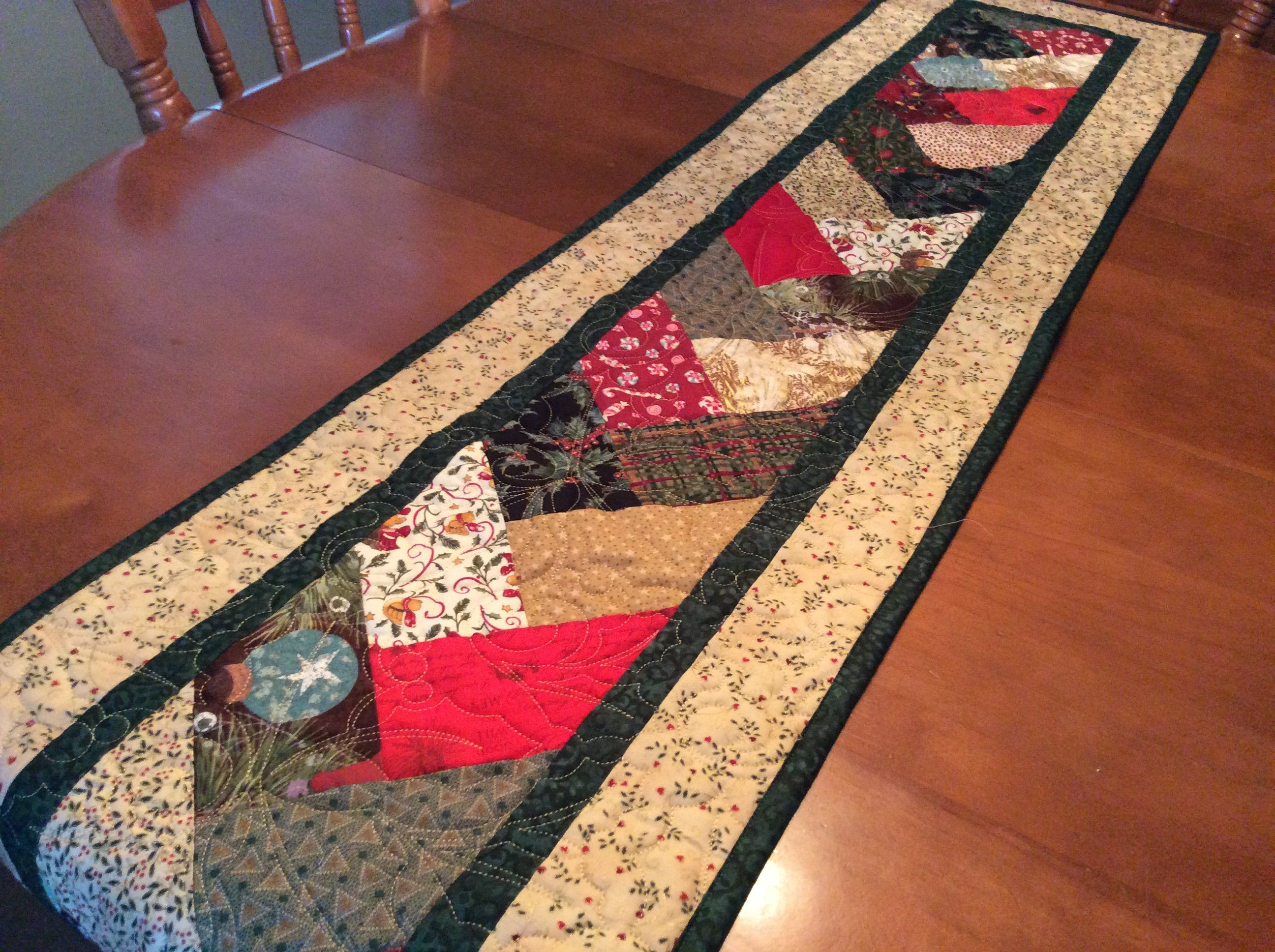 Extra long foot holiday thanksgiving christmas table runner