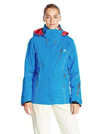 Salomon Women's Enduro Jacket, Methyl Blue | Ski and