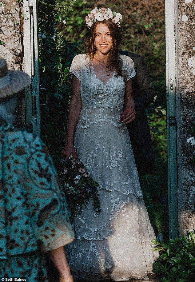 Cleaning old lace wedding dress