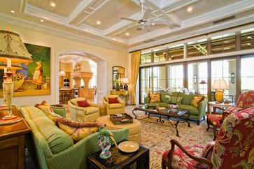 French Country Family Rooms   French Country Family Room Design Ideas, Pictures, Remodel, and Decor