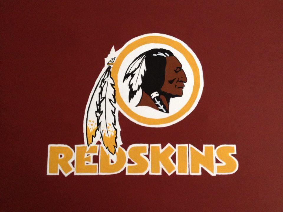Painted Nfl Canvas Washington Redskins Redskins Nfl Art