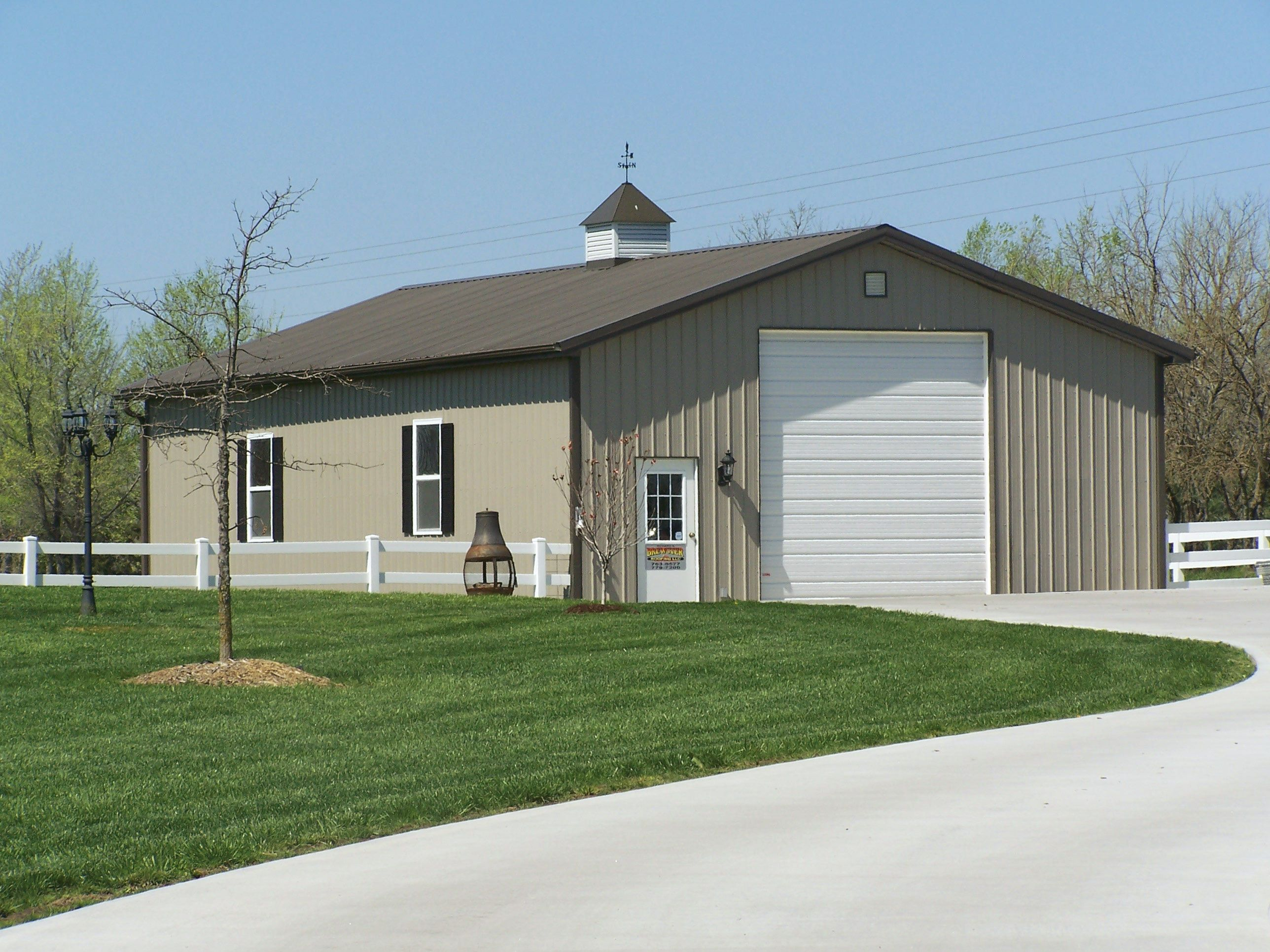 Steel sheds design residential steel buildings and residential metal buildings ideas for the - Garage house kits property ...