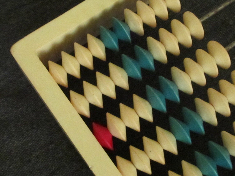 Vintage Abacus 1960s school abacus Home decor collectibles Retro ...