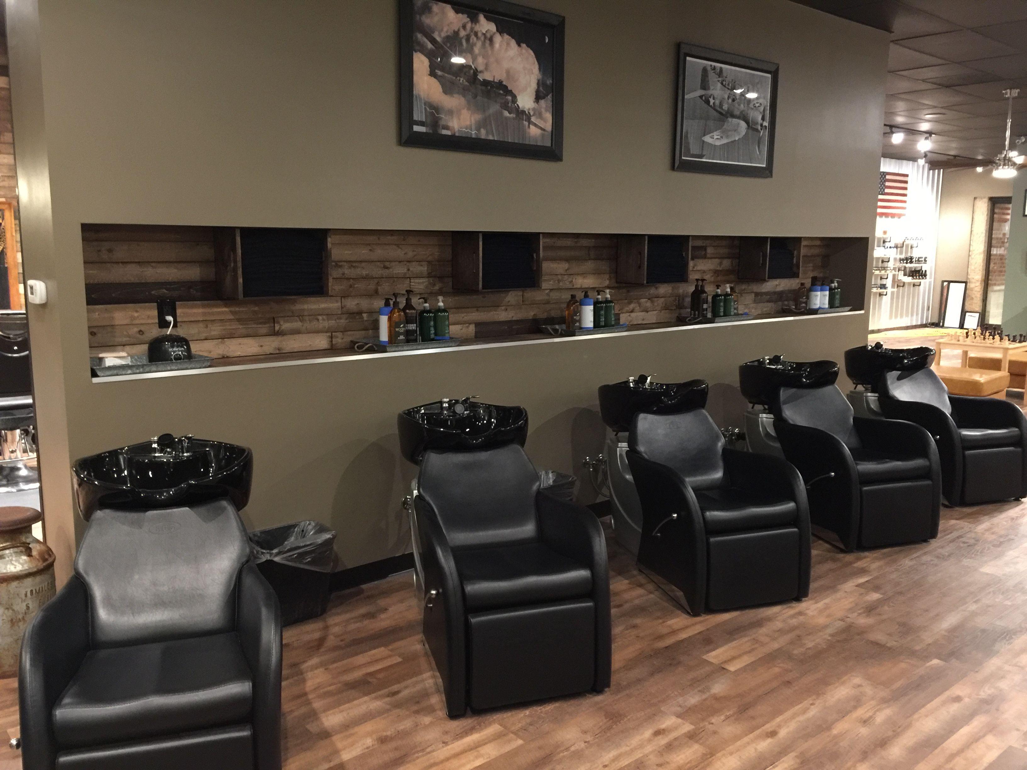 Barber Shop Barber Chairs Salon Shampoo Bowls Barber Shop Decor Hair Salon Chairs Shampoo Bowls Salon