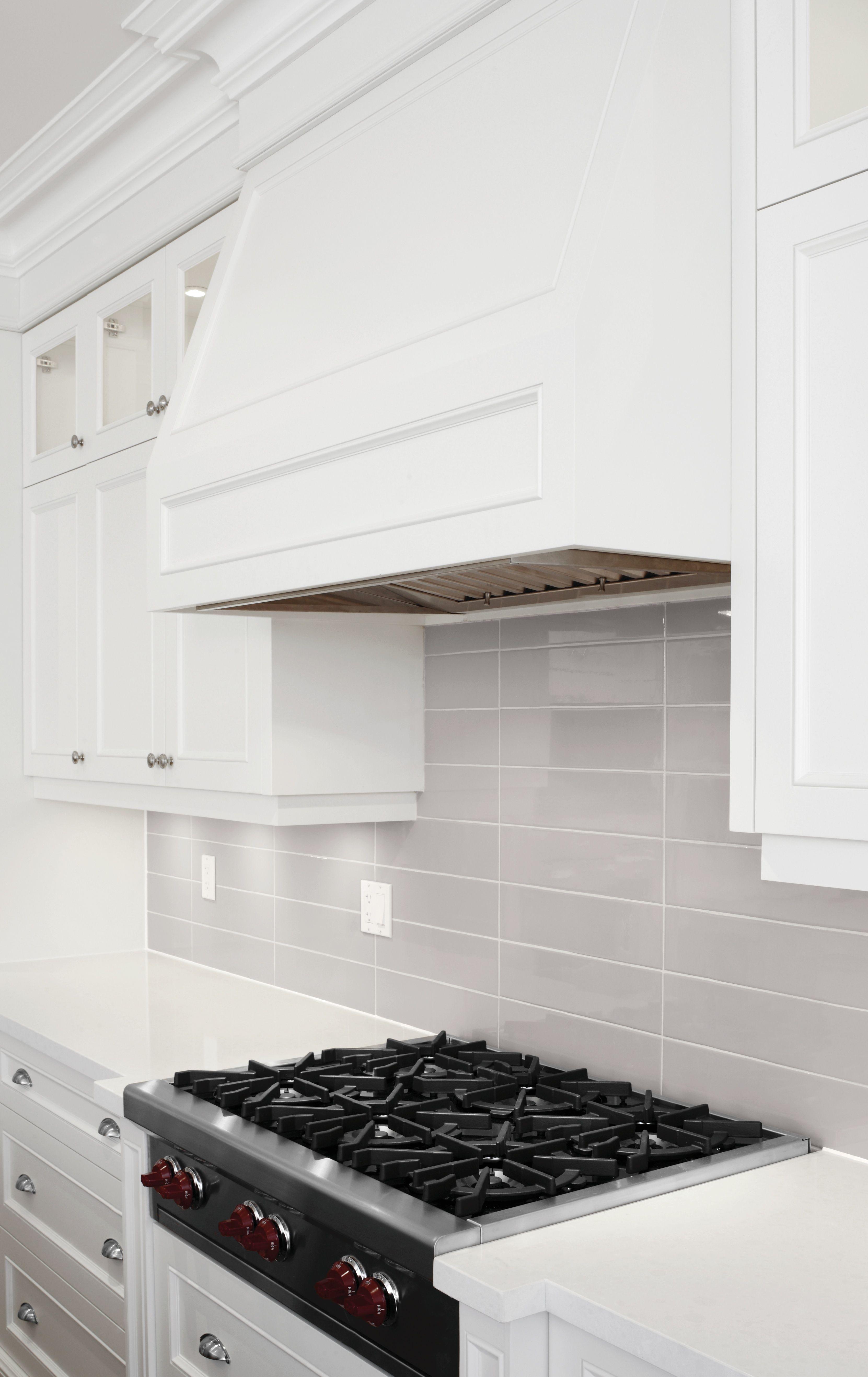 Soho #WarmGrey Room Scene | #gray #grey #backsplash #kitchen #tile ...