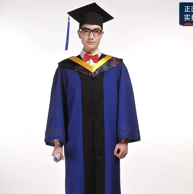 Graduation clothing Cap gown graduation Graduate uniform Academic ...