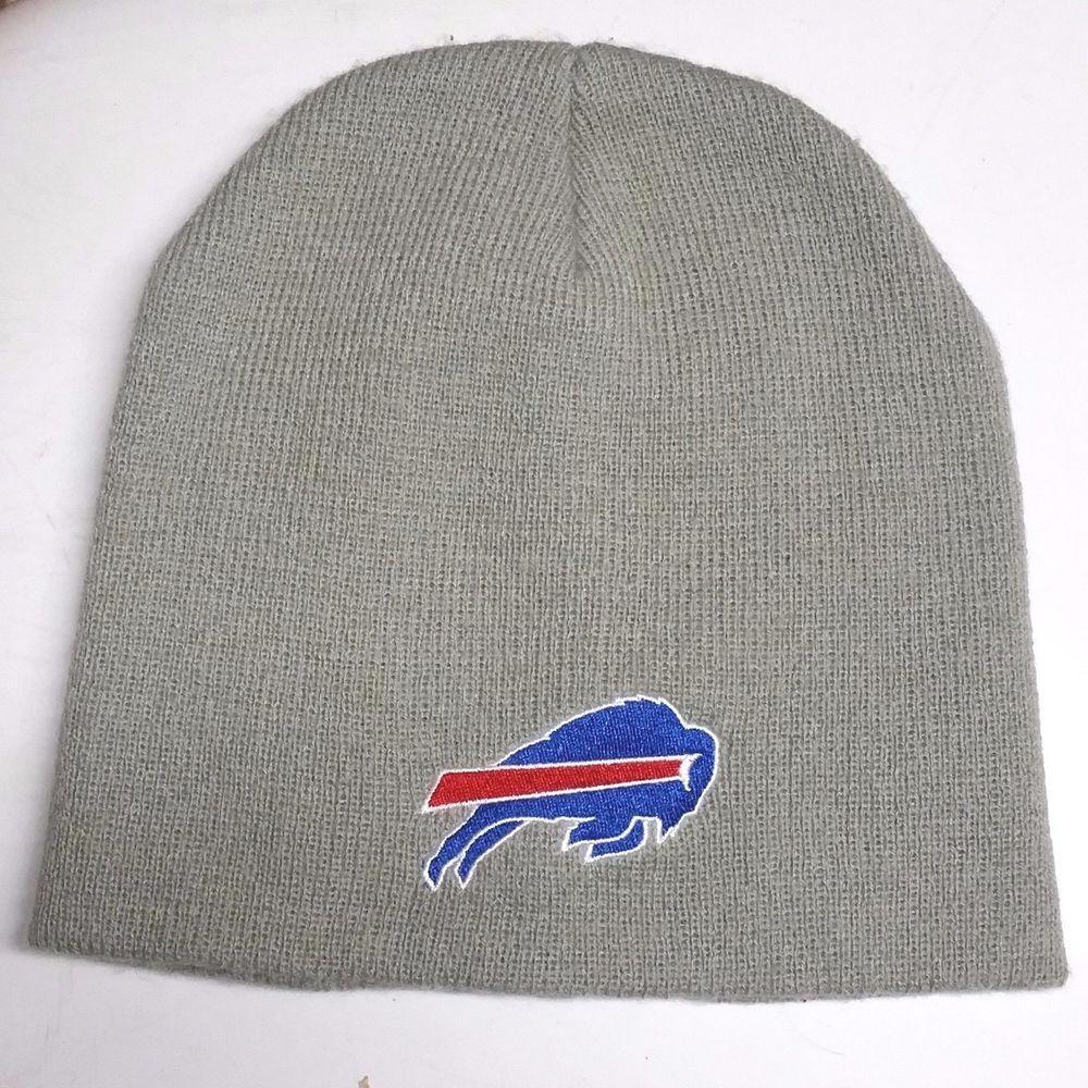 b205efc8 NFL Buffalo Bills Molson Canadian Winter Cuffless Beanie Hat Gray ...