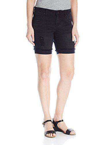 KUT from the Kloth Women's Catherine Boyfriend Short In Black